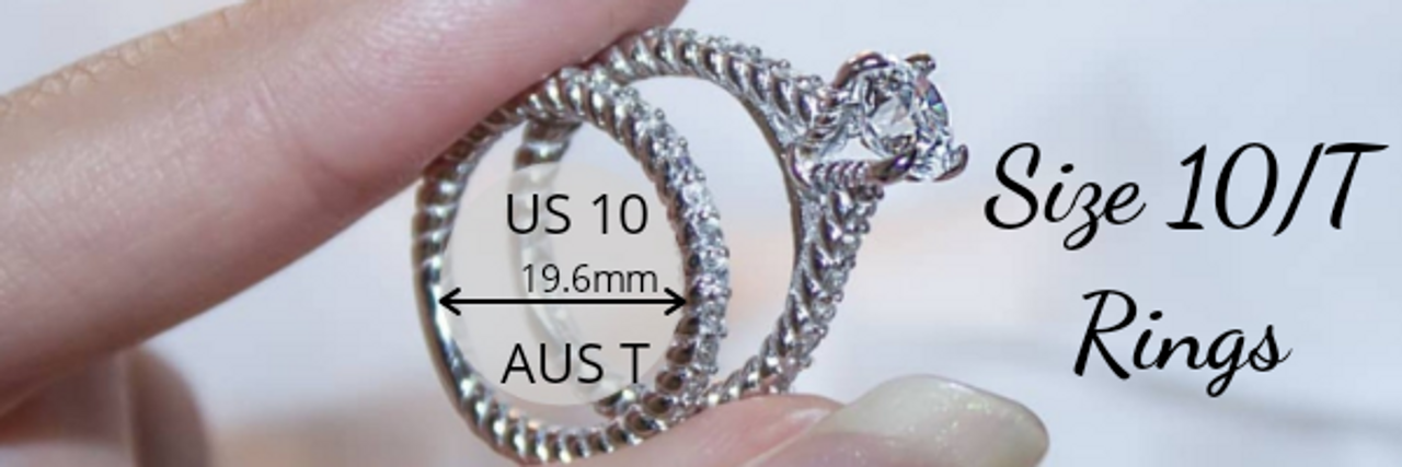 Size 10 T Rings