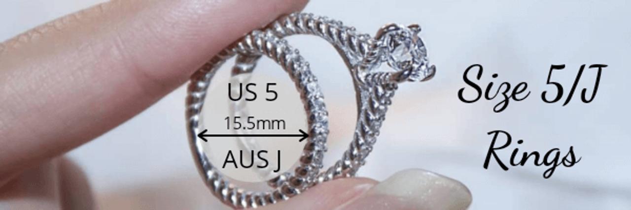 Size 5 J rings