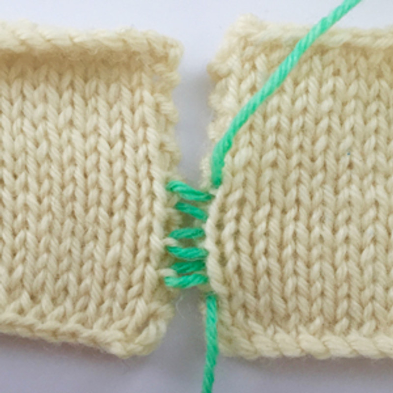 Knit Bit Knitted Edges For Seaming The Loveliest Yarn Company
