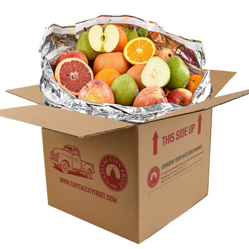 20lb Mixed Fruit Box of Oranges, Pears, Apples, and Grapefruit (32 pieces)