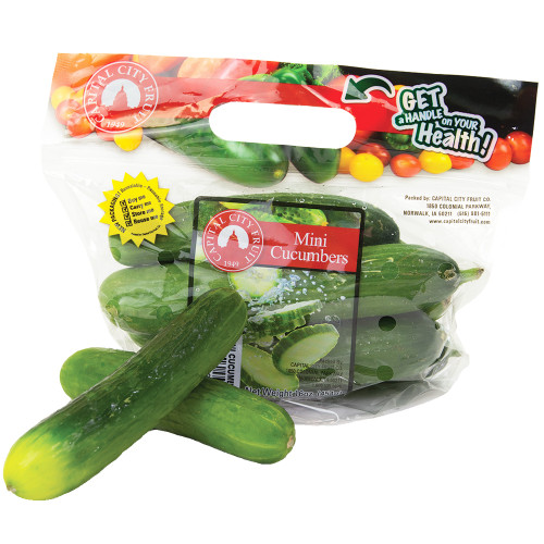 Mini Cucumbers - 1 bag
