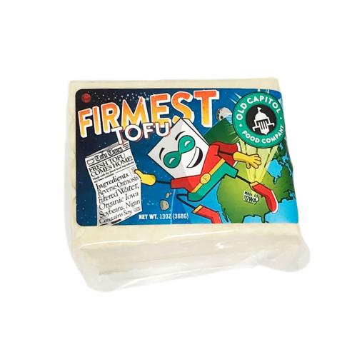 "Tofu, Old Capitol Food Co. ""Firmest"" 13 oz."