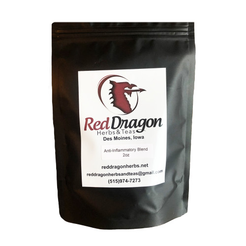 Anti-Inflammatory Tea Blend, Red Dragon Herbs