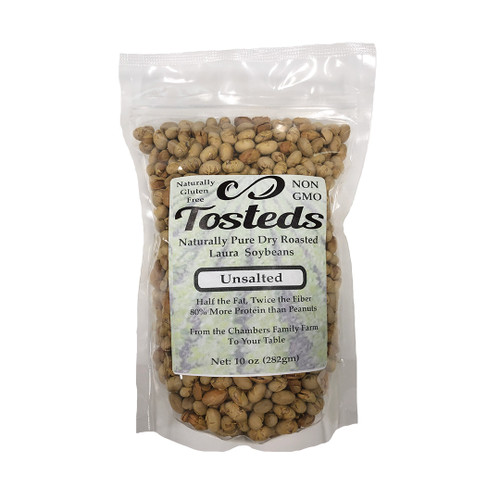 Tosteds unsalted dry roasted soybeans
