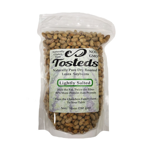 Tosteds lightly salted dry roasted soybeans