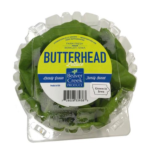 Butterhead lettuce clamshell
