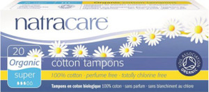 Natracare Organic Cotton Tampons - Super (non applicator)