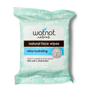 Wotnot Natural Face Wipes - Ultra-Hydrating 25 Pack
