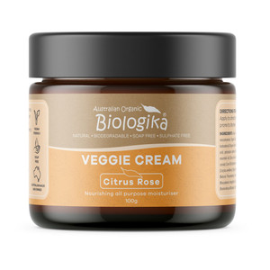 Biologika Veggie Cream - Citrus Rose 100g