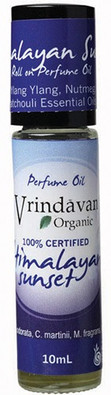 Vrindavan Roll On Organic Perfume Oil - Himalayan Sunset