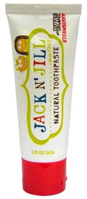 Jack N' Jill Natural Toothpaste - Strawberry