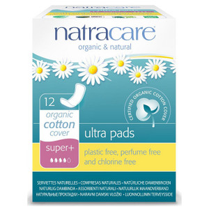 Natracare Organic Cotton Ultra Pads - Super Plus