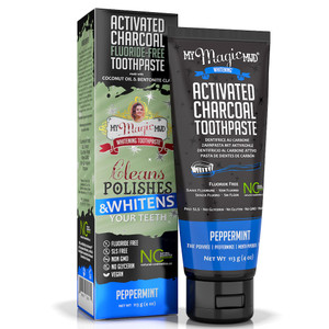 My Magic Mud Whitening Toothpaste - Peppermint