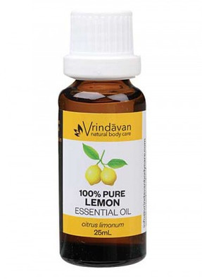 Vrindavan 100% Pure Lemon Essential Oil