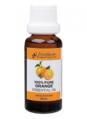 Vrindavan 100% Pure Orange Essential Oil 25ml