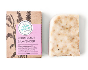 Australian Natural Soap Company Peppermint & Lavender Soap - with box