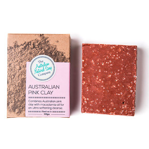 Australian Natural Soap Company Australian Pink Clay Soap - with box
