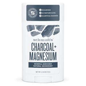 Schmidt's Natural Deodorant Stick - Charcoal + Magnesium 75g