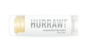 Hurraw! Organic Lip Balm - Unscented
