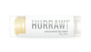 Hurraw! Organic Lip Balm - Unscented