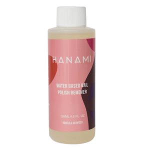 Hanami Water Based Nail Polish Remover - Vanilla Scented 125ml