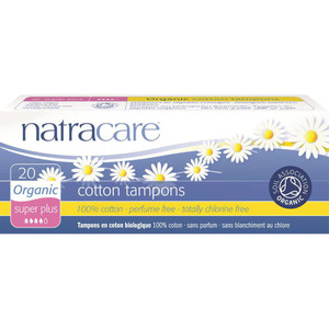 Natracare Organic Cotton Tampons - Super Plus (non applicator)