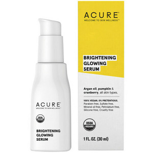 Acure Brightening Glowing Serum 30ml