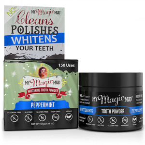 My Magic Mud Whitening Tooth Powder - Peppermint