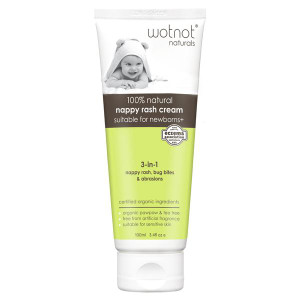 Wotnot 100% Natural Nappy Rash Cream 100ml