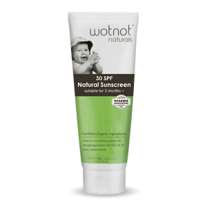 Wotnot 30 SPF Natural Baby Sunscreen