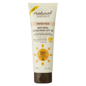 Natural Instinct Tinted Face Natural Sunscreen SPF30