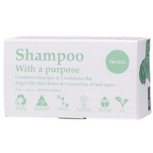 Shampoo With a Purpose Shampoo & Conditioner Bar - The O.G.