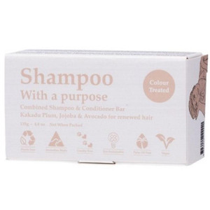 Shampoo With a Purpose Shampoo & Conditioner Bar - Colour Treated