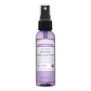 Dr Bronner's Organic Hand Sanitizer - Lavender 59ml