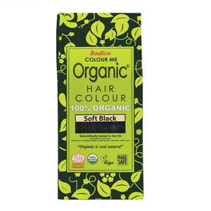 Radico Colour Me Organic Hair Colour - Soft Black 100g