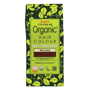 Radico Colour Me Organic Hair Colour - Wine Red 100g