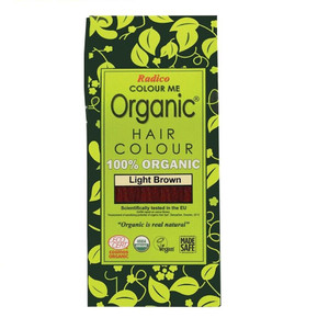 Radico Colour Me Organic Hair Colour - Light Brown 100g