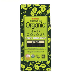 Radico Colour Me Organic Hair Colour - Brown 100g