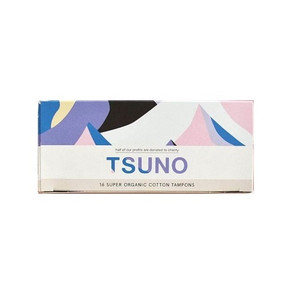 Tsuno Organic Cotton Tampons - 16 Super