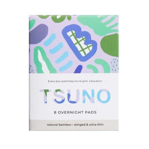 Tsuno Natural Bamboo Pads - 8 Overnight