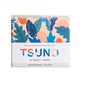 Tsuno Natural Bamboo Panty Liners - 20 Ultra Thin