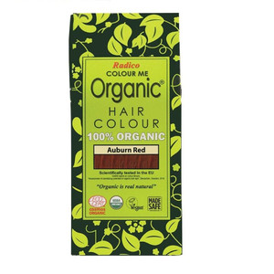 Radico Colour Me Organic Hair Colour - Auburn Red 100g