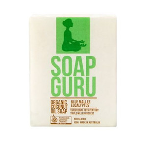 Soap Guru Organic Coconut Oil Soap - Blue Mallee Eucalyptus 100g