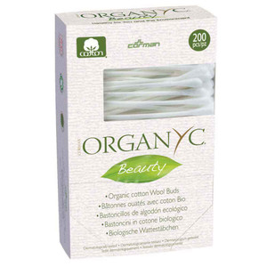 Organyc Beauty Cotton Wool Buds 200 Pack