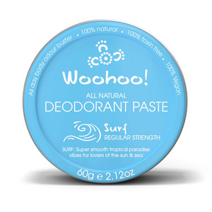 Woohoo All Natural Deodorant Paste - Surf 60g