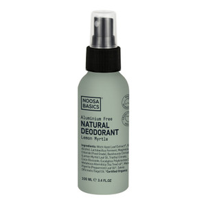 Noosa Basics Natural Spray Deodorant - Lemon Myrtle 100ml