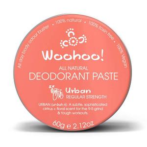 Woohoo All Natural Deodorant Paste - Urban 60g