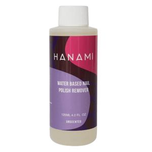 Hanami Water Based Nail Polish Remover - Unscented 125ml