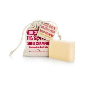 The Super Eco Solid Shampoo Bar - Orange & Grapefruit 100g