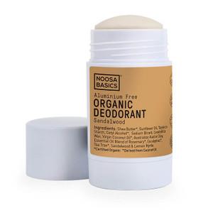 Noosa Basics Organic Deodorant Stick - Sandalwood 60g
